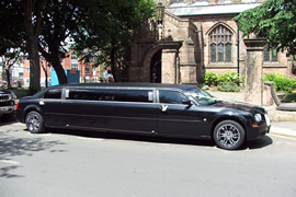 Black Chrysler Limo Hire