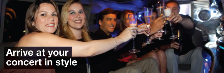 Concerts Limo Hire