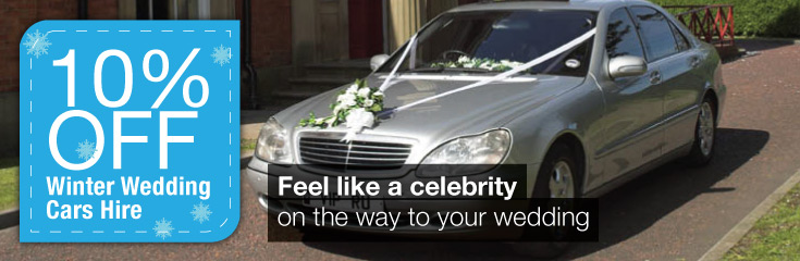 Mercedes S500 Wedding Car