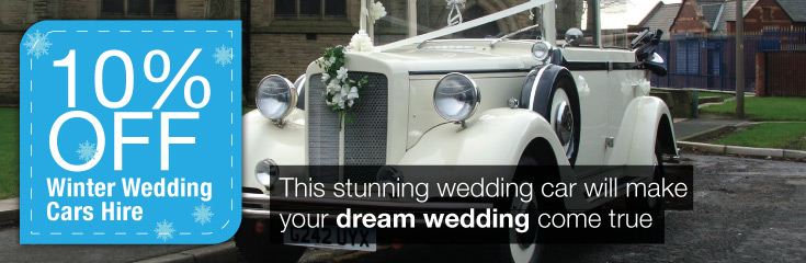 Regent Convertible Wedding Car