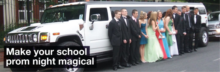 School Prom Limo Hire