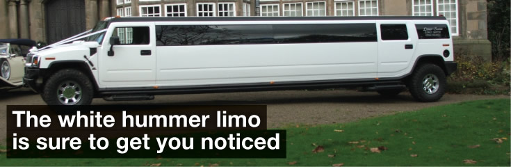 16 Seater White Hummer Limo Hire