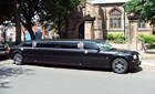 Black Chrysler Limo