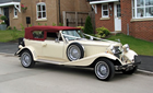 Burgundy Beauford Wedding Car