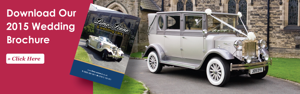 Limo and wedding car hire brochure
