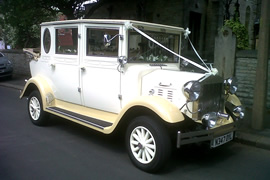 Cream Regal Landaulette Wedding Car