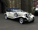 Blue Beauford Convertible Wedding car for hire