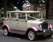 Pink Regal Landaulette wedding car for hire