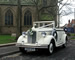 Regent Convertible wedding car for hire