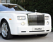 Rolls-Royce White Phantom