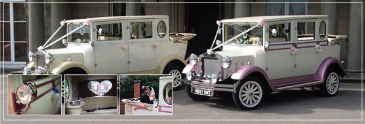 The perfect wedding car for a princess wedding