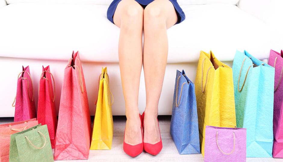 Woman-With-Shopping-Bags