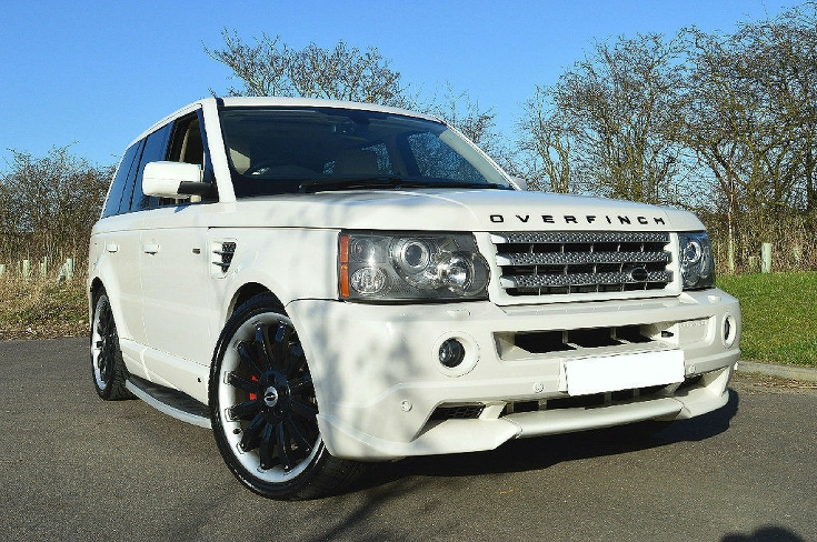 range rover overfinch sunny
