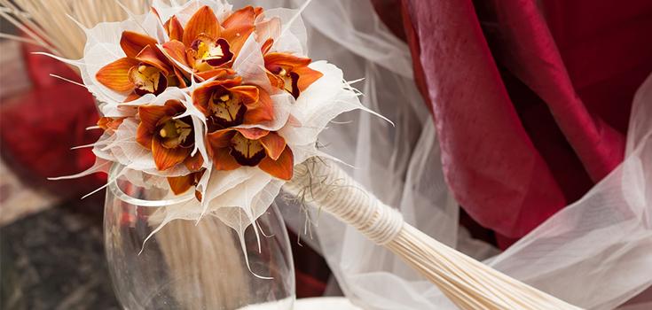 limo blog autumn wedding theme colour theme