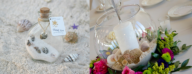 limo blog beach themed wedding accessories