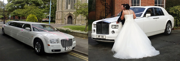 limo blog seaside themed wedding-cars