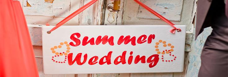limo blog summer wedding theme