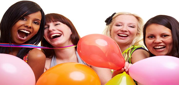 limoscene blog sweet 16 girls party