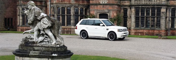 Perfect for Prom Range Rover Sport