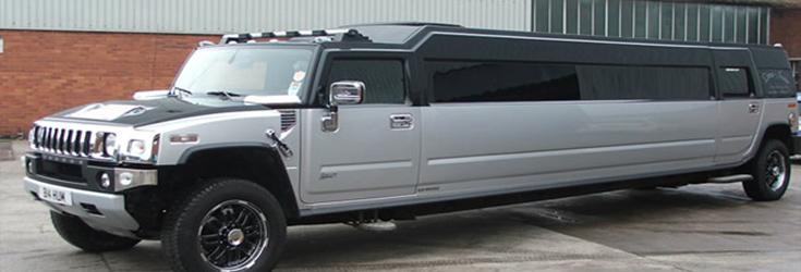 18 seater silver Hummerzine