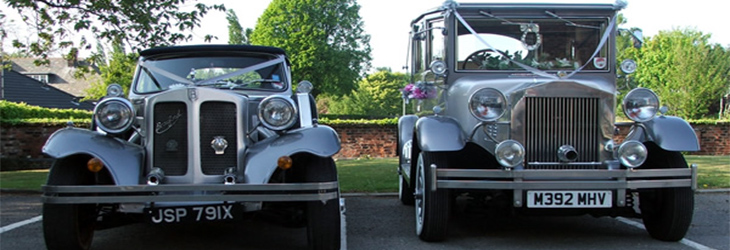 Why two wedding cars are better than one!