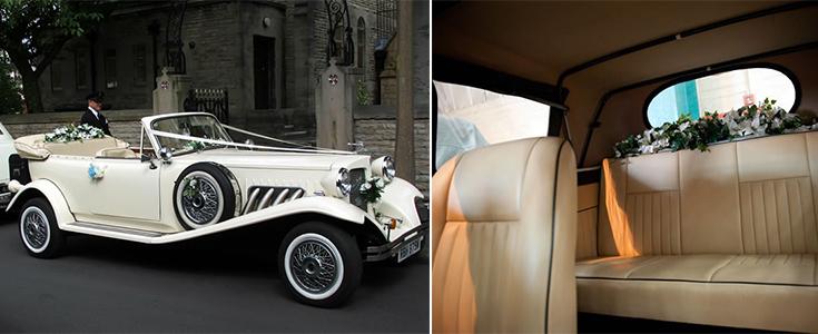 Beauford Convertible Wedding Car