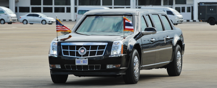 the beast presidential limo