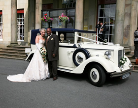 Beautiful Wedding Car