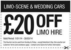 Limo Hire Voucher