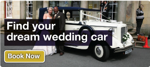 Find your dream wedding car